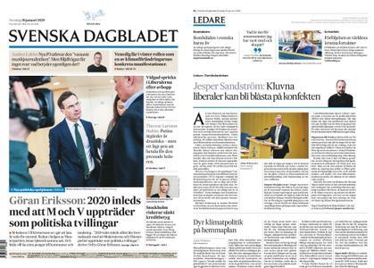 Svenska Dagbladet – 16 januari 2020