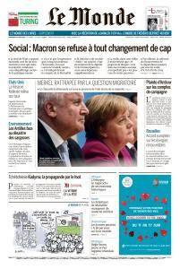 Le Monde du Vendredi 15 Juin 2018