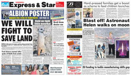 Express and Star Sandwell Edition – August 28, 2019