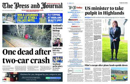 The Press and Journal Moray – February 26, 2018