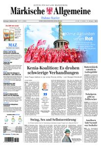 Märkische Allgemeine Dahme-Kurier - 08. Oktober 2019