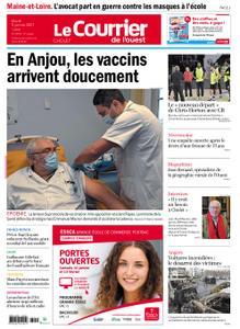 Le Courrier de l'Ouest Cholet – 05 janvier 2021