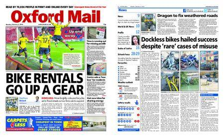 Oxford Mail – February 05, 2018