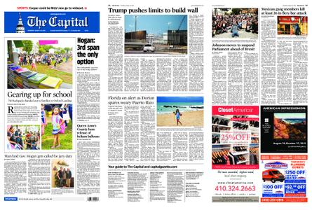 The Capital – August 29, 2019
