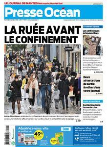Presse Océan Nantes – 30 octobre 2020