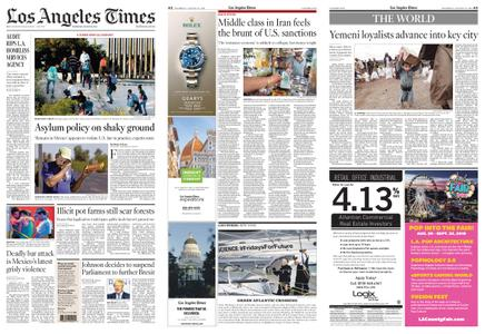 Los Angeles Times – August 29, 2019