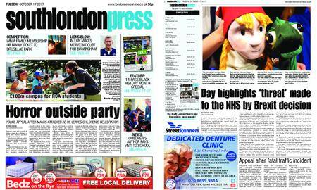 South London Press – October 17, 2017