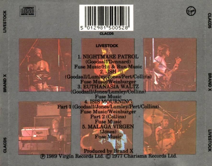 Brand X - Livestock (Live, 1977)
