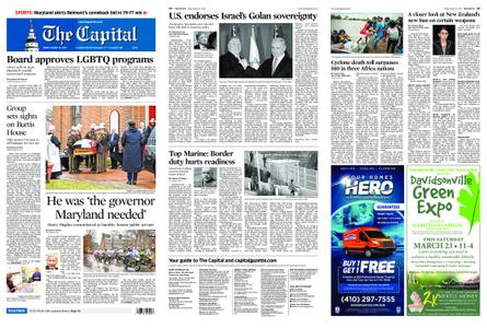 The Capital – March 22, 2019
