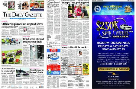The Daily Gazette – August 03, 2018
