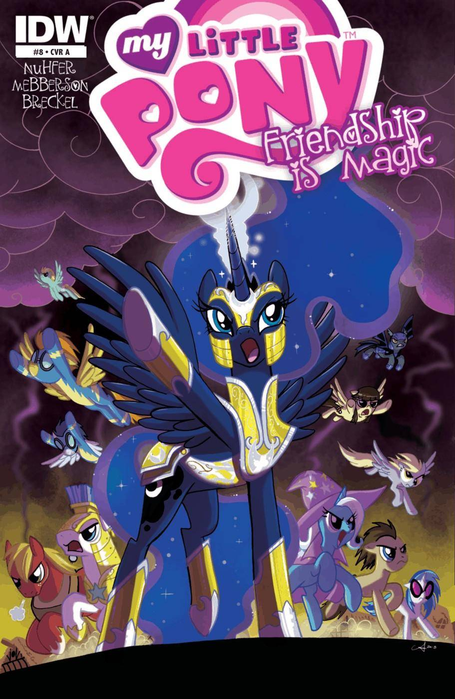 My Little Pony - Friendship is Magic 008 2013 3 covers digital