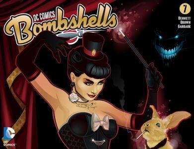 DC Comics - Bombshells 007 2015 digital