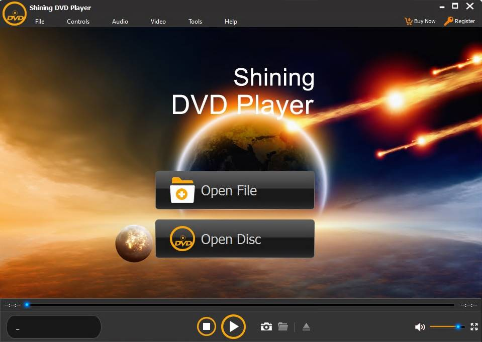 Shining DVD Player 6.6.6 Portable