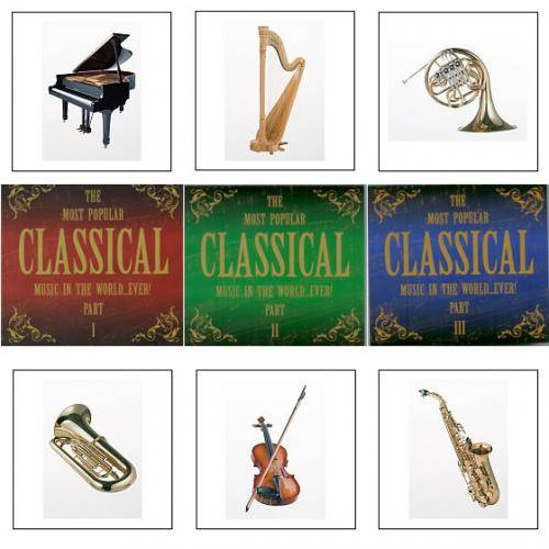 VA - The Most Popular Classical Music In The World...Ever! Part 1 - 3 (6CD) 2008