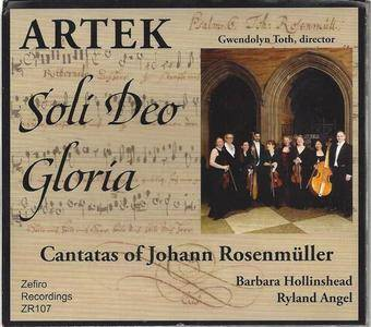 Artek, Gwendolyn Toth - Soli Deo Gloria: Cantatas of Johann Rosenmüller (2014)