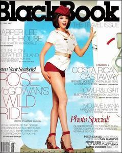 Rose Mcgowan - Black Book April-May 2007