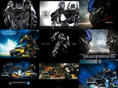 Wallpapers with Transformers