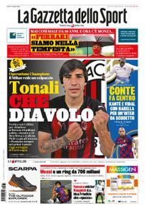 La Gazzetta dello Sport Roma – 31 agosto 2020