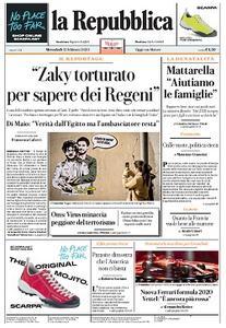 la Repubblica - 12 Febbraio 2020