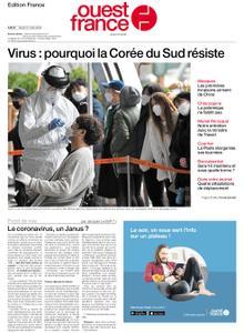Ouest-France Édition France – 31 mars 2020