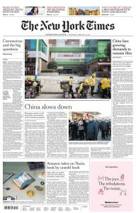 International New York Times - 12 February 2020