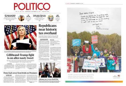 Politico – December 13, 2017