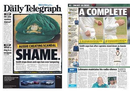 The Daily Telegraph (Sydney) – March 26, 2018