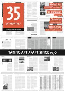 Art Monthly - October 2011   No 350