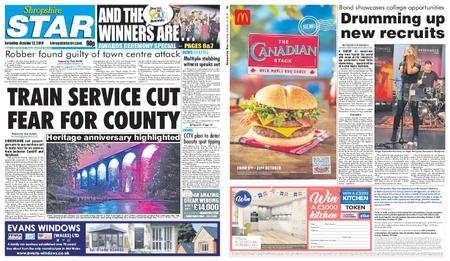 Shropshire Star Shrewsbury Edition – October 12, 2019