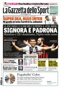 La Gazzetta dello Sport Roma – 12 novembre 2018