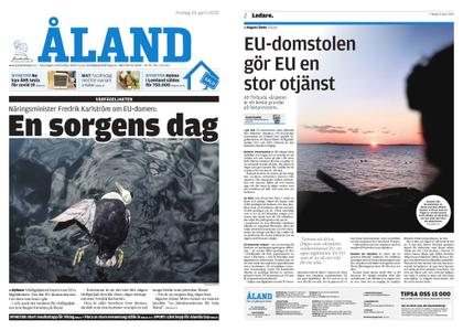 Ålandstidningen – 24 april 2020