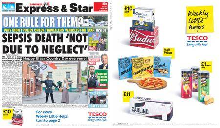 Express and Star Sandwell Edition – July 14, 2018
