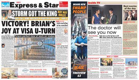 Express and Star City Edition – September 05, 2017