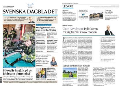 Svenska Dagbladet – 14 augusti 2019