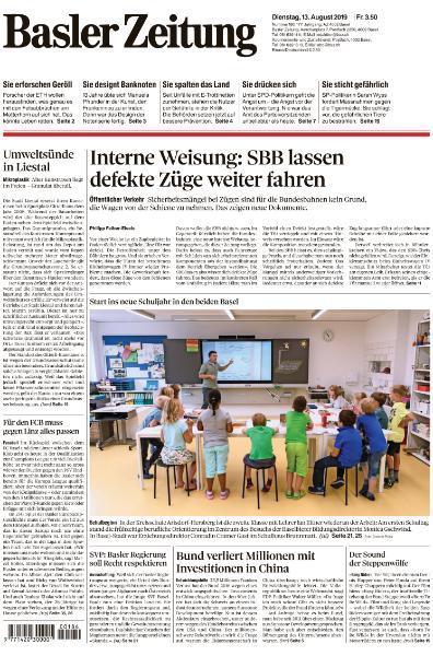 Basler Zeitung - 13 August 2019