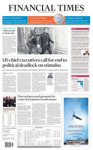 Financial Times Europe - August 4, 2020