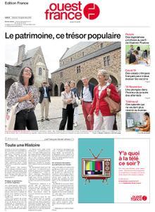 Ouest-France Édition France – 18 septembre 2021