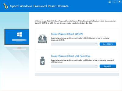 Tipard Windows Password Reset Ultimate 1.0.10