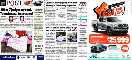 The Guam Daily Post – October 02, 2018