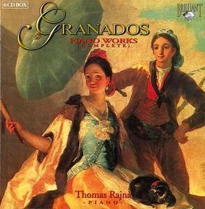 Thomas Rajna - Enrique Granados: Complete Piano Works (2004) 6CD Box Set