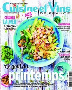 Cuisine et Vins de France – avril 2019