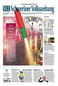 Schweriner Volkszeitung Hagenower Kreisblatt - 31. Dezember 2018