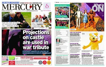 Hertfordshire Mercury – November 15, 2018