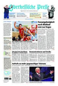 Oberhessische Presse Marburg/Ostkreis - 04. Oktober 2017
