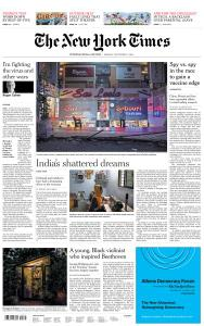 International New York Times - 7 September 2020