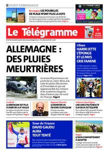 Le Télégramme Ouest Cornouaille – 16 juillet 2021