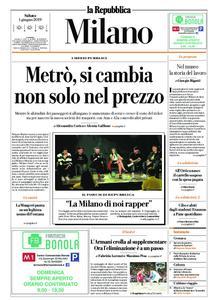 la Repubblica Milano – 01 giugno 2019