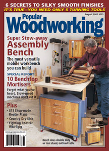 Popular Woodworking Magazine Issue 123