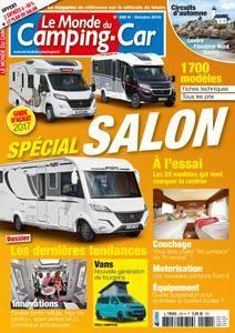 Le Monde du Camping-Car - octobre 2016