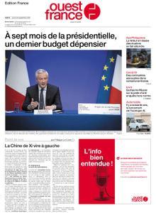 Ouest-France Édition France – 23 septembre 2021